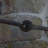 Järnsmidda öglor södra väggen
